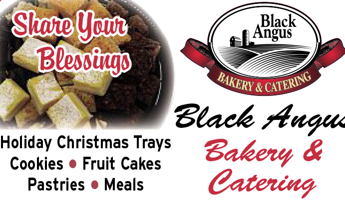 Black Angus Bakery December special