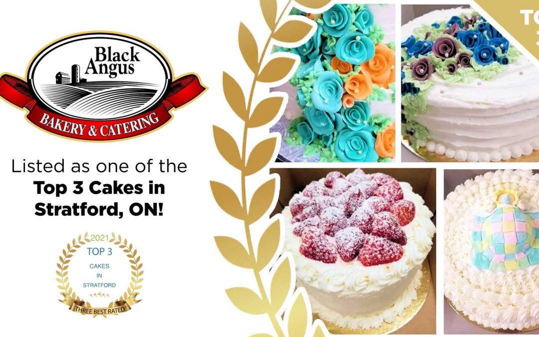 Listed as one of Top 3 Cakes in Stratford